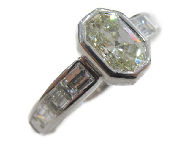【中古】【送料無料】ジュエリー ダイヤモンドリング 指輪 レディース PT900 プラチナ x ダイヤモンド(1.153ct) | JEWELRY リング ダイヤ ダイヤモンド リング 美品 ブランドオフ BRANDOFF 美品 ボーナス