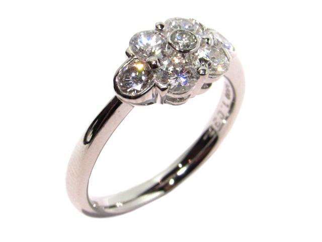 【中古】【送料無料】ジュエリー ダイヤモンドリング レディース PT900 プラチナ×D1.035ct シルバー×クリアー   JEWELRY Ring 美品 ブランドオフ BRANDOFF 美品 ボーナス