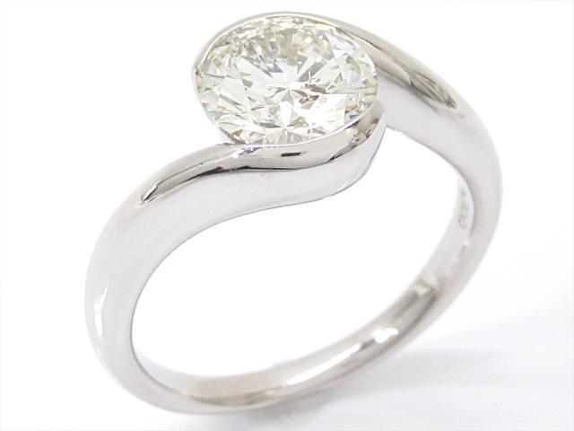 【中古】【送料無料】ジュエリー ダイヤモンドリング 指輪 レディース PT900 プラチナxダイヤモンド(2.006ct)   JEWELRY Ring 美品 ブランドオフ BRANDOFF ボーナス