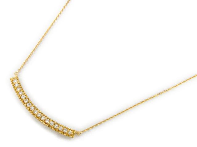【送料無料】ジュエリー ダイヤモンド ネックレス レディース K18YG(750) イエローゴールド x ダイヤモンド0.30ct | JEWELRY ネックレス 18K K18 18金 ダイヤ 新品 ブランドオフ BRANDOFF ボーナス