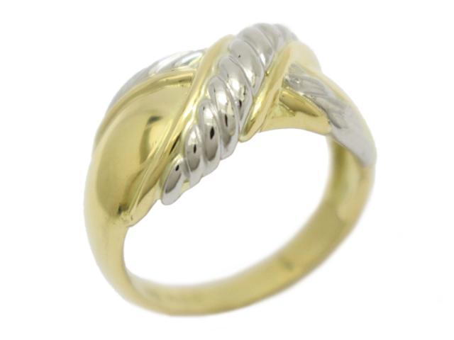 【中古】【送料無料】ジュエリー リング 指輪 レディース K18YG(750) イエローゴールド×PT900(プラチナ) (JEWELRY) | JEWELRY Ring K18 18K 18金 ブランドオフ BRANDOFF 美品 ボーナス