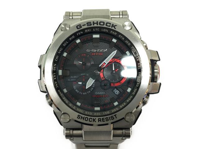 【中古】【送料無料】カシオ G-SHOCK MTG メンズ腕時計 メンズ ステンレススチール(SS) ブラック (MTG-S10000D-1A45F) | CASIO ソーラー 美品 ブランド ブランドオフ BRANDOFF