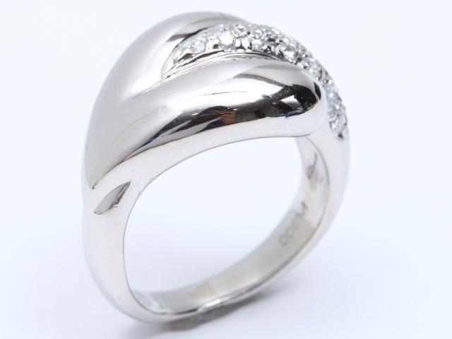 【中古】ジュエリー ダイヤモンド リング 指輪 レディース PT900 プラチナ x ダイヤモンド(0.25ct) | JEWELRY リング ブランドオフ BRANDOFF 美品 ボーナス