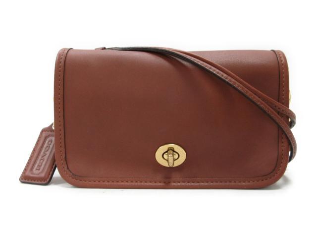 【中古】コーチ ショルダーバッグ レディース レザー ブラウン (17994) | COACH ショルダー 肩掛け バッグ バック BAG 鞄 カバン ブランドバッグ 美品 ブランド ブランドオフ BRANDOFF