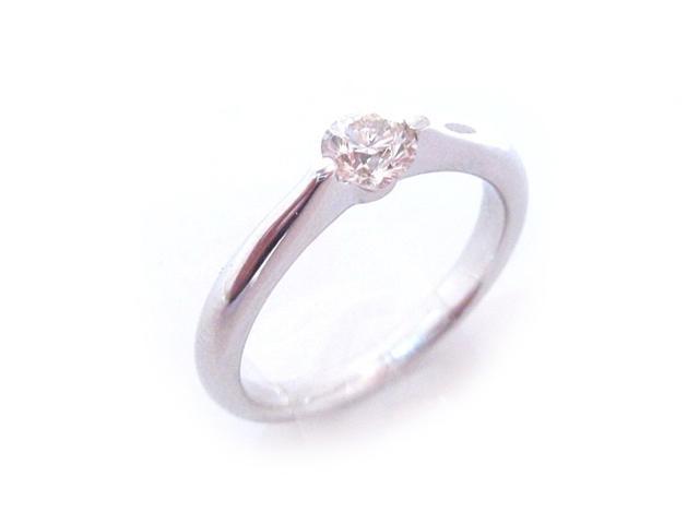 【中古】ジュエリー ダイヤモンド リング 指輪 レディース K18WG(750) ホワイトゴールド x ダイヤモンド(0.325ct) シルバー | JEWELRY リング ブランドオフ BRANDOFF 美品 ボーナス
