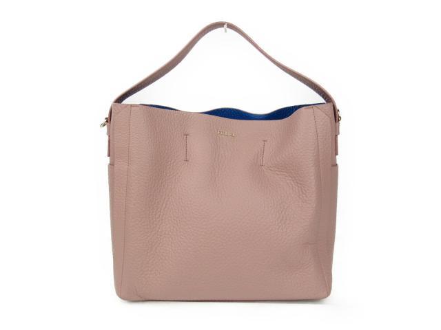 【中古】フルラ 2wayショルダーバッグ レディース レザー ライトピンク | FURLA ショルダーバッグ ショルダー 肩掛け バッグ バック BAG 鞄 カバン ブランドバッグ 美品 ブランド ブランドオフ BRANDOFF