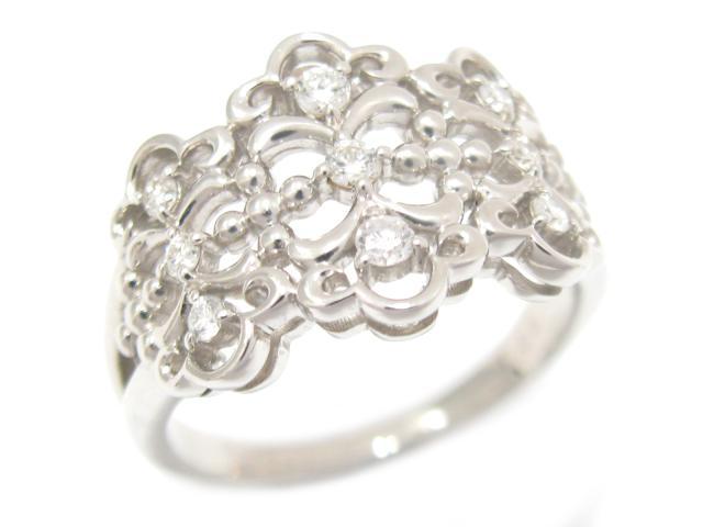【送料無料】ジュエリー ダイヤモンド リング 指輪 メンズ レディース PT900 プラチナ x ダイヤモンド (0.23ct) | JEWELRY リング新品 ブランドオフ BRANDOFF ボーナス