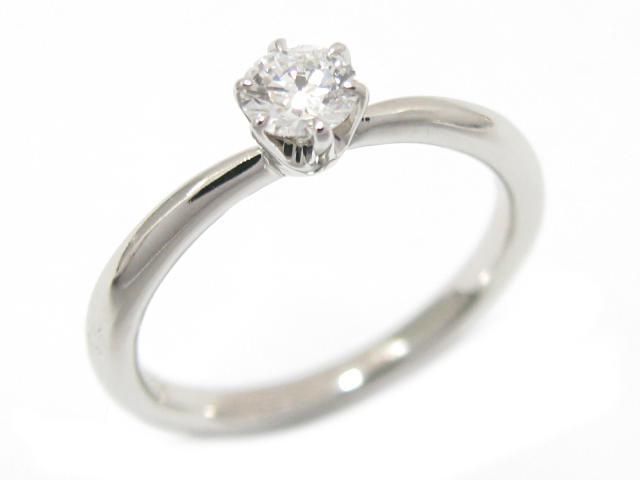 【中古】【送料無料】ジュエリー ダイヤモンド リング 指輪 レディース PT950 プラチナ x ダイヤモンド (0.254ct) | JEWELRY リング美品 ブランドオフ 美品 BRANDOFF ボーナス