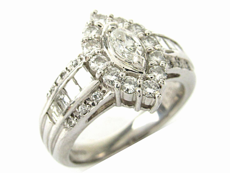 【中古】ジュエリー ダイヤモンド リング 指輪 レディース PT900 プラチナxダイヤモンド1.05ct | ブランドオフ BRANDOFF ボーナス