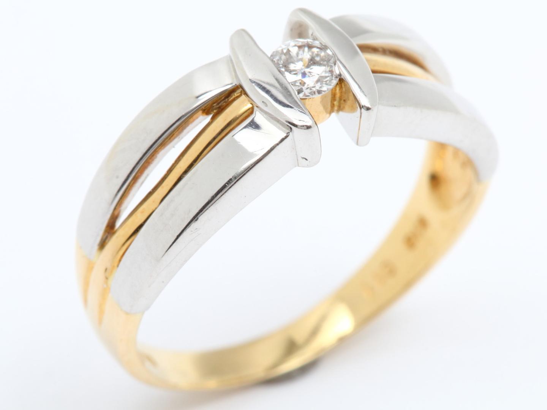 【中古】ジュエリー ダイヤモンド リング 指輪 レディース PT900 プラチナ x ダイヤモンド(0.11ct)   JEWELRY リング美品 ブランドオフ 美品 BRANDOFF ボーナス