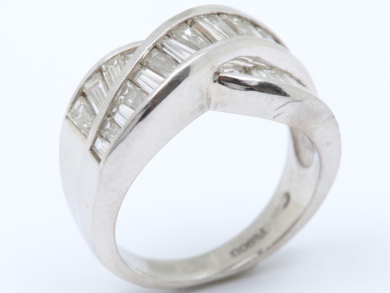 【中古】【送料無料】ジュエリー ダイヤモンド リング 指輪 レディース PT900 プラチナ x ダイヤモンド(1.52ct) | JEWELRY リング美品 ブランドオフ 美品 BRANDOFF ボーナス