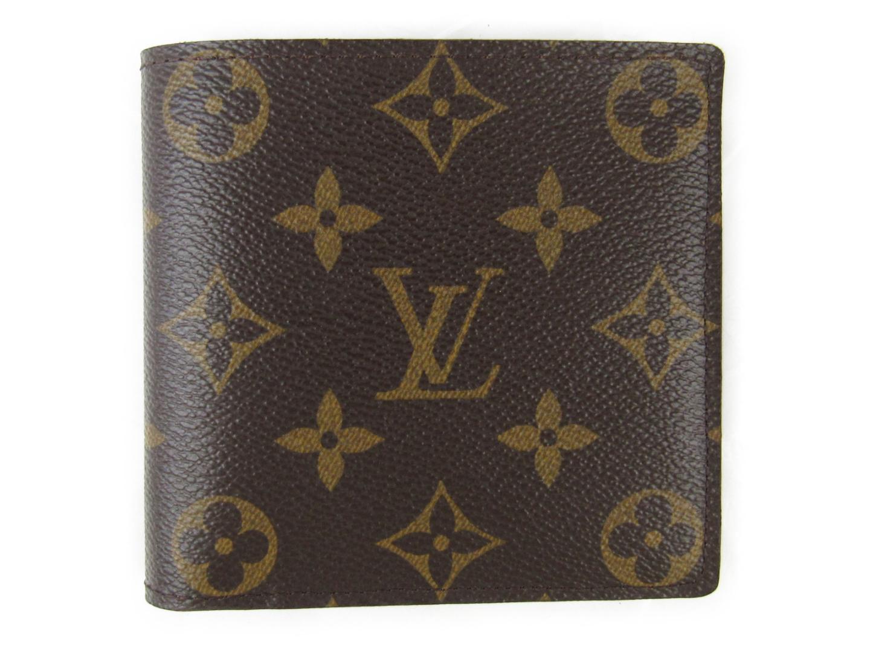 【中古】【送料無料】ルイヴィトン ポルトフォイユ・マルコ 二つ折り財布 メンズ モノグラム (M61675)   LOUIS VUITTON ヴィトン ビトン ルイ・ヴィトン 財布 二つ折り 美品 ブランド ブランドオフ BRANDOFF