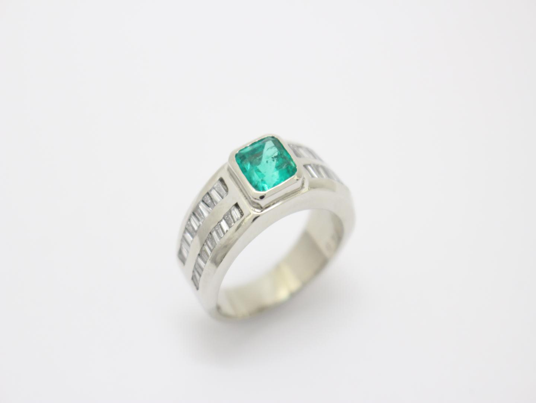 【中古】【送料無料】ジュエリー エメラルド ダイヤモンド リング指輪 メンズ レディース K18YG(750) イエローゴールド×エメラルド(1.40ct)×ダイヤモンド(0.89ct) | JEWELRY リング美品 ブランドオフ 美品 BRANDOFF ボーナス