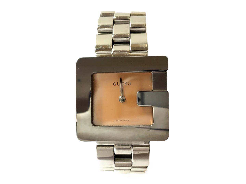 74cb9bdefcd3 ... グッチクオーツ腕時計腕時計WATCHレディースステンレススチール(SS)シルバー(3600L ...