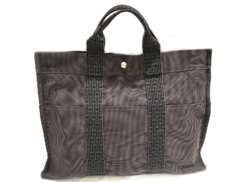 【中古】エルメス エールライントートPM トートバッグ メンズ キャンバス | HERMES トート 肩掛け バッグ バック BAG 鞄 カバン ブランドバッグ ブランド ブランドオフ BRANDOFF
