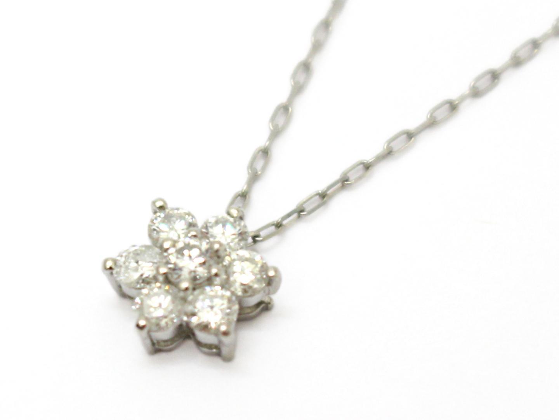 ジュエリー ダイヤモンド ネックレス レディース PT900 プラチナ × PT850 × ダイヤモンド (0.30ct) | ブランドオフ BRANDOFF ボーナス