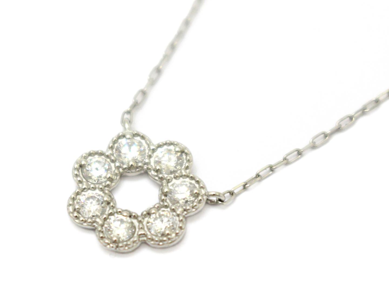 ジュエリー ダイヤモンド ネックレス レディース PT900 プラチナ×PT850×ダイヤモンド(0.30ct) | ブランドオフ BRANDOFF ボーナス