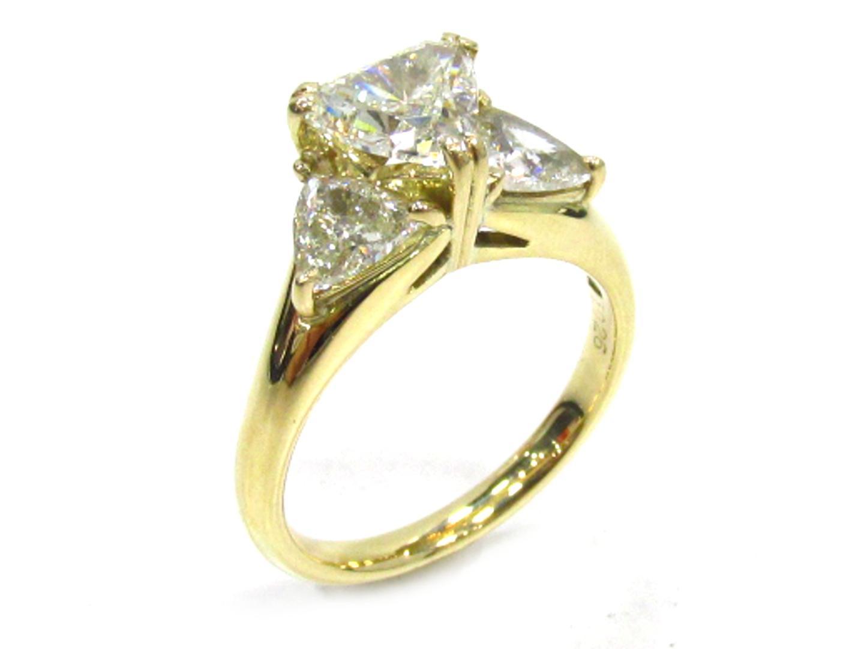 【中古】【送料無料】ジュエリー ダイヤモンド リング 指輪 レディース K18YG(750) イエローゴールド×ダイヤモンド(1.026/0.82ct) | JEWELRY リング 美品 ブランドオフ BRANDOFF