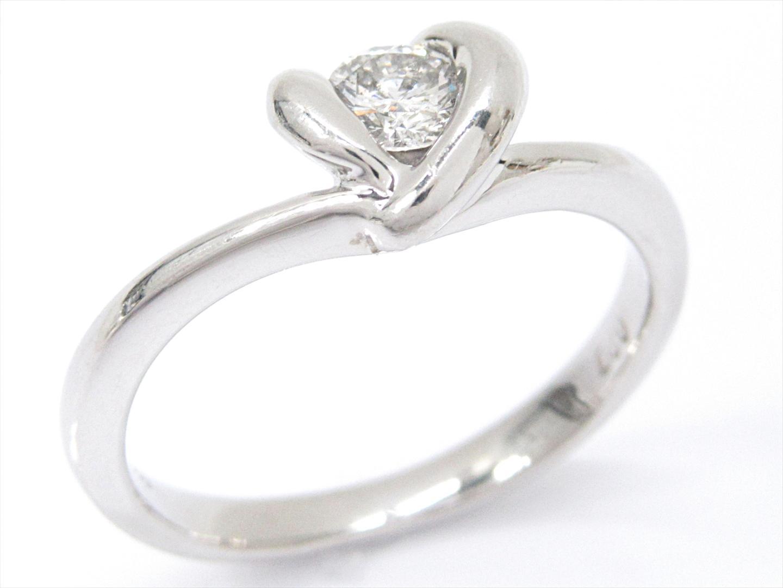 【中古】【送料無料】ジュエリー ダイヤモンドリング 指輪 レディース PT900 プラチナxダイヤモンド(0.20ct) | JEWELRY リング 美品 ブランドオフ BRANDOFF