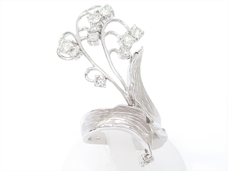 【中古】【送料無料】ジュエリー ダイヤモンドリング 指輪 レディース K18WG(750) ホワイトゴールドxダイヤモンド(石目なし) | JEWELRY リング 美品 ブランドオフ BRANDOFF