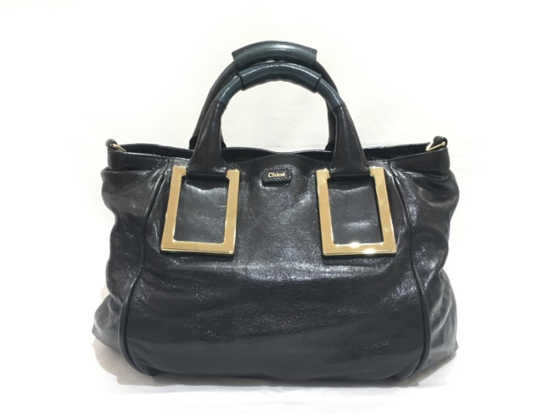 【中古】クロエ 2wayショルダーバッグ レディース レザー ブラック | Chloe ショルダー 肩掛け バッグ バック BAG 鞄 カバン ブランドバッグ ブランド ブランドオフ BRANDOFF