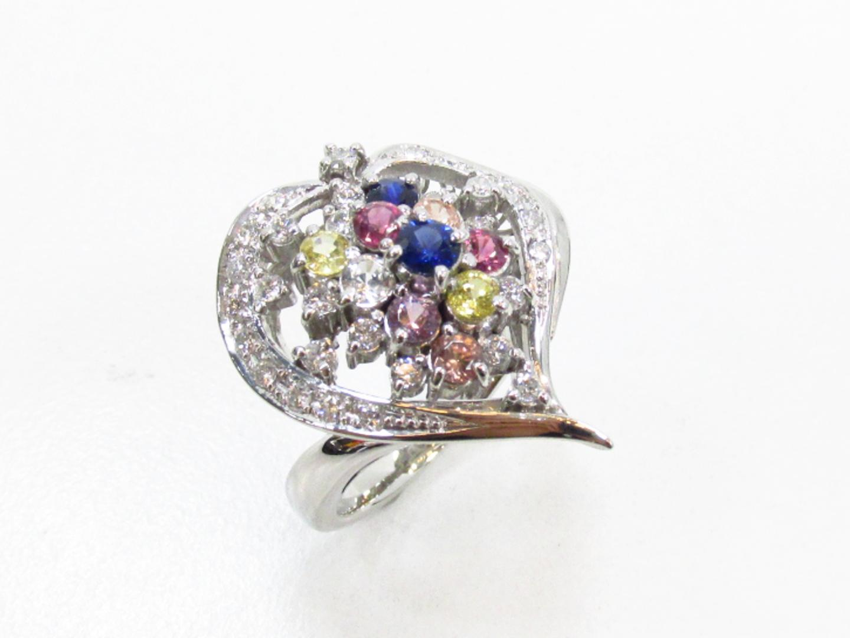 【中古】【送料無料】ジュエリー ダイヤモンドリング 指輪 レディース PT900 プラチナ×ダイヤモンド(0.38)   JEWELRY リング 美品 ブランドオフ BRANDOFF