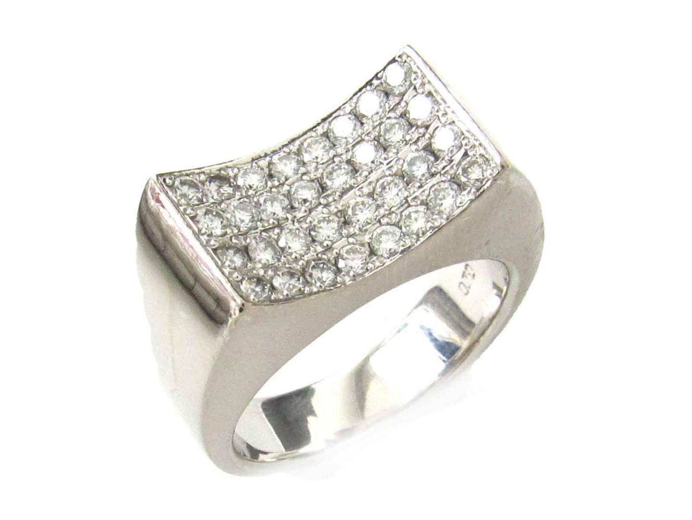 【中古】【送料無料】ジュエリー ダイヤモンド リング 指輪 レディース K18WG(750) ホワイトゴールド x ダイヤモンド(0.70ct) | JEWELRY リング 美品 ブランドオフ BRANDOFF