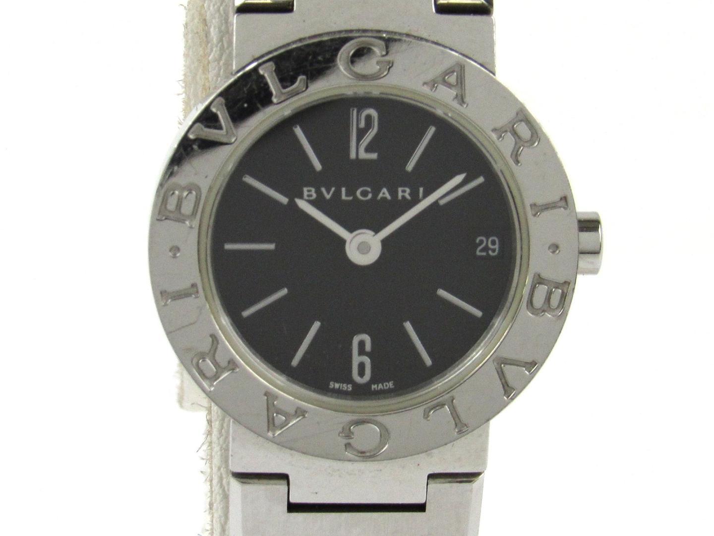 【中古】【送料無料】ブルガリ ブルガリ ブルガリ 腕時計 ウォッチ レディース ステンレススチール(SS) (BB23SS)   BVLGARI クオーツ WATCH 時計 美品 ブランド ブランドオフ BRANDOFF