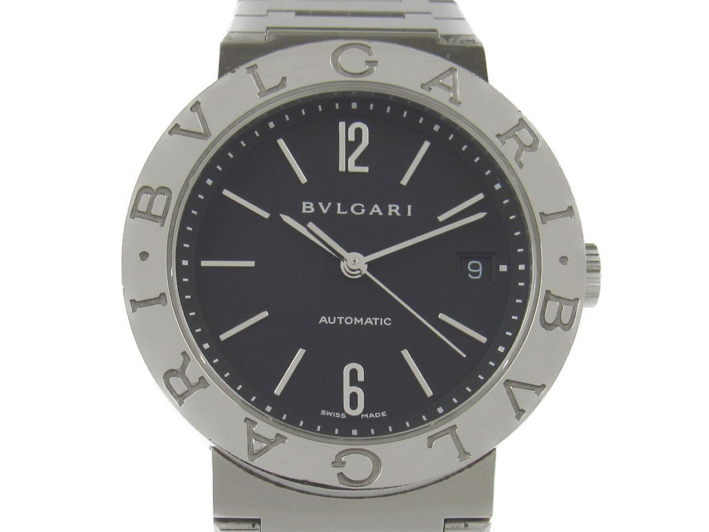 【中古】【送料無料】ブルガリ ブルガリ ブルガリ 腕時計 ウォッチ メンズ ステンレススチール(SS) (BB38SS AUTO) | BVLGARI オートマチック 自動巻き WATCH 時計 美品 ブランド ブランドオフ BRANDOFF