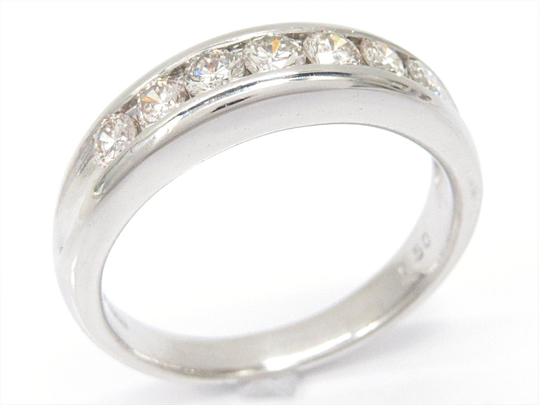 【中古】【送料無料】ジュエリー ダイヤモンドリング 指輪 レディース PT900 プラチナxダイヤモンド(0.50ct) | JEWELRY リング 美品 ブランドオフ BRANDOFF