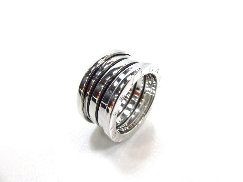 【中古】【送料無料】ブルガリ B-ZERO1 リング 指輪 K18WG(750) ホワイトゴールド | BVLGARI リング ブランドジュエリー ジュエリー メンズ レディース 美品 ブランド ブランドオフ BRANDOFF
