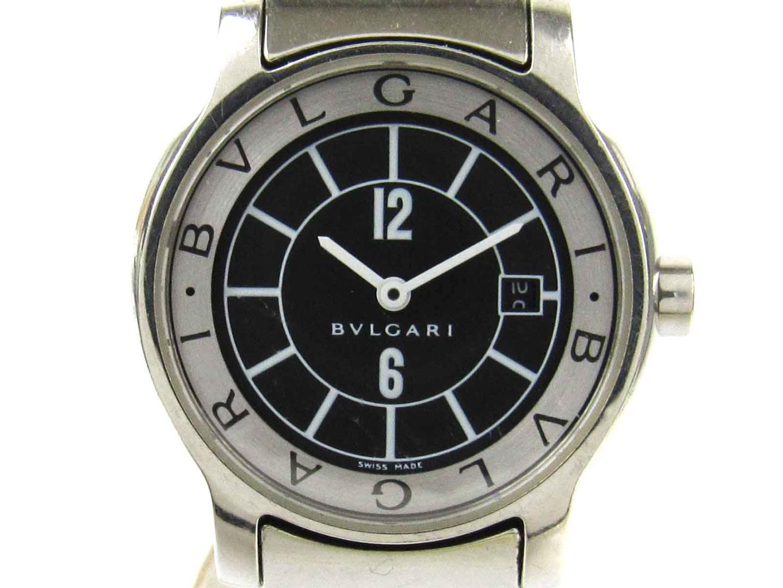 【中古】【送料無料】ブルガリ ソロテンポ ウォッチ 腕時計 レディース レディース ステンレススチール(SS) (ST29S) | BVLGARI クオーツ WATCH 時計 美品 ブランド ブランドオフ BRANDOFF