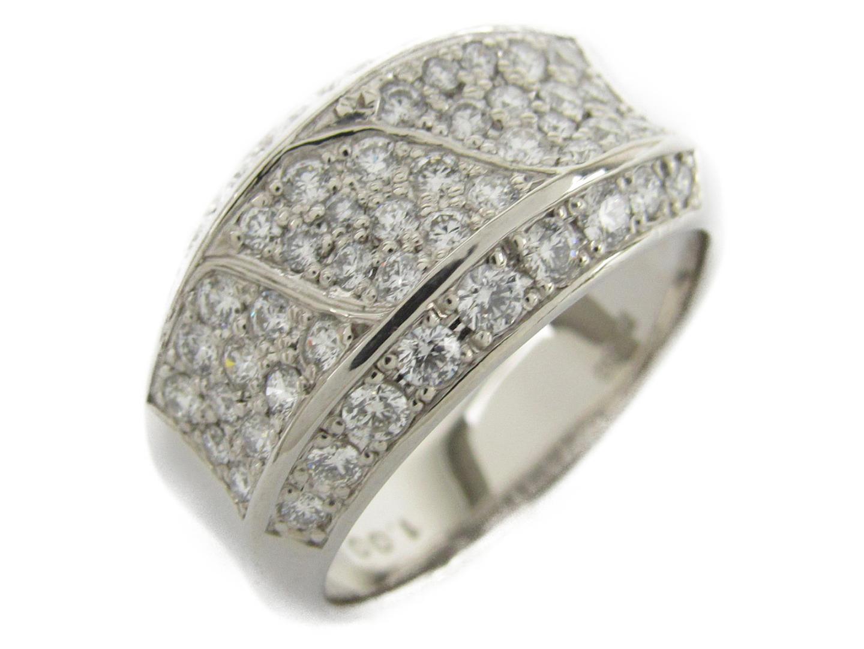 【中古】【送料無料】ジュエリー ダイヤモンド リング 指輪 レディース PT900 プラチナxダイヤモンド1.00ct   JEWELRY リング 美品 ブランドオフ BRANDOFF