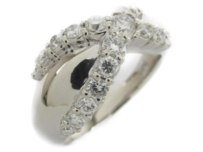 【中古】【送料無料】ジュエリー ダイヤモンド リング 指輪 レディース PT900 プラチナxダイヤモンド0.81ct | JEWELRY リング 美品 ブランドオフ BRANDOFF