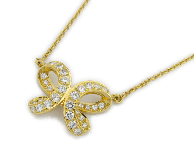 【中古】【送料無料】ジュエリー ダイヤモンド ネックレス レディース K18YG(750) イエローゴールドxダイヤモンド1.56ct | JEWELRY ネックレス 美品 ブランドオフ BRANDOFF