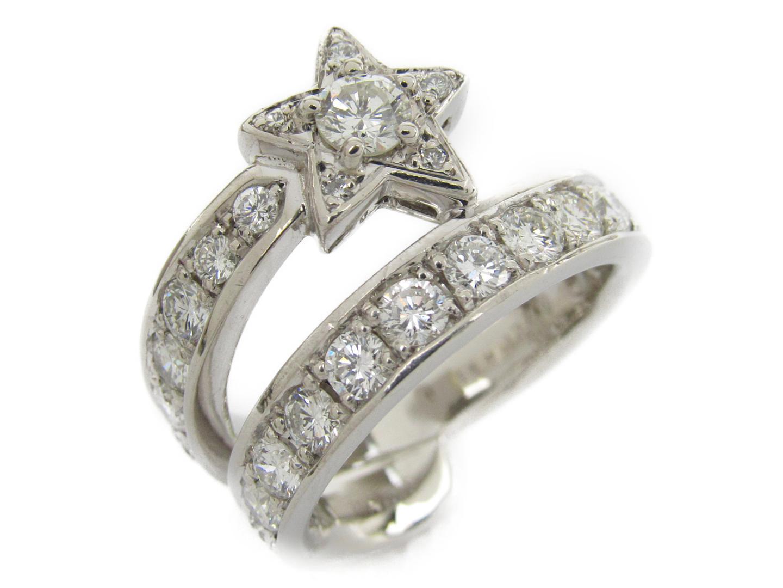 【中古】【送料無料】ジュエリー ダイヤモンド リング 指輪 レディース PT900 プラチナxダイヤモンド1.10/0.221ct   JEWELRY リング 美品 ブランドオフ BRANDOFF