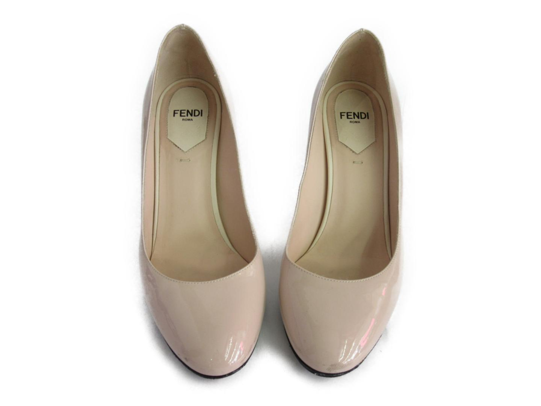 【中古】【送料無料】フェンディ パンプス レディース エナメル ピンク | FENDI くつ 靴 ブランド ブランドオフ BRANDOFF