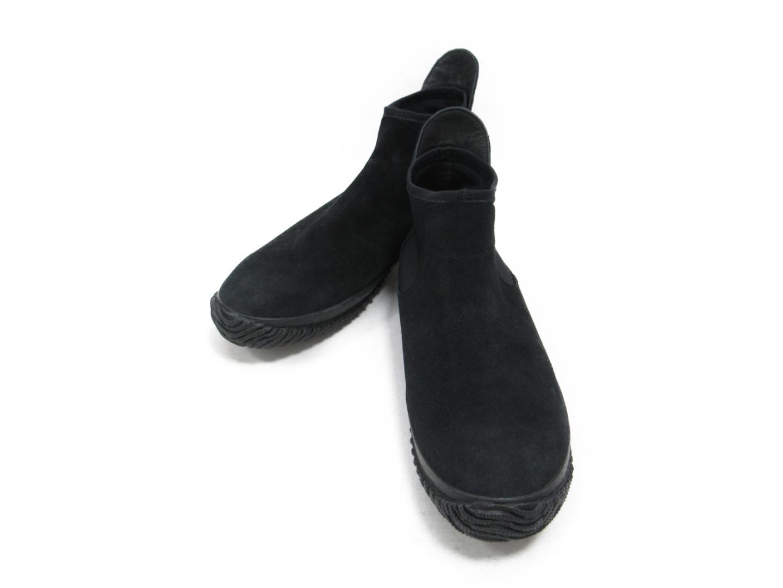 セレクション SPINGLE MOVE サイドゴアブーツ メンズ ベロア ブラック | SELECTION くつ 靴 新品 ブランド ブランドオフ BRANDOFF