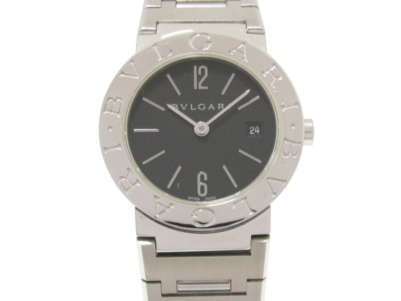 【中古】【送料無料】ブルガリ ブルガリ ブルガリ ウォッチ 腕時計 レディース ステンレススチール(SS) (BB26SS) | BVLGARI クオーツ WATCH 時計 美品 ブランド ブランドオフ BRANDOFF
