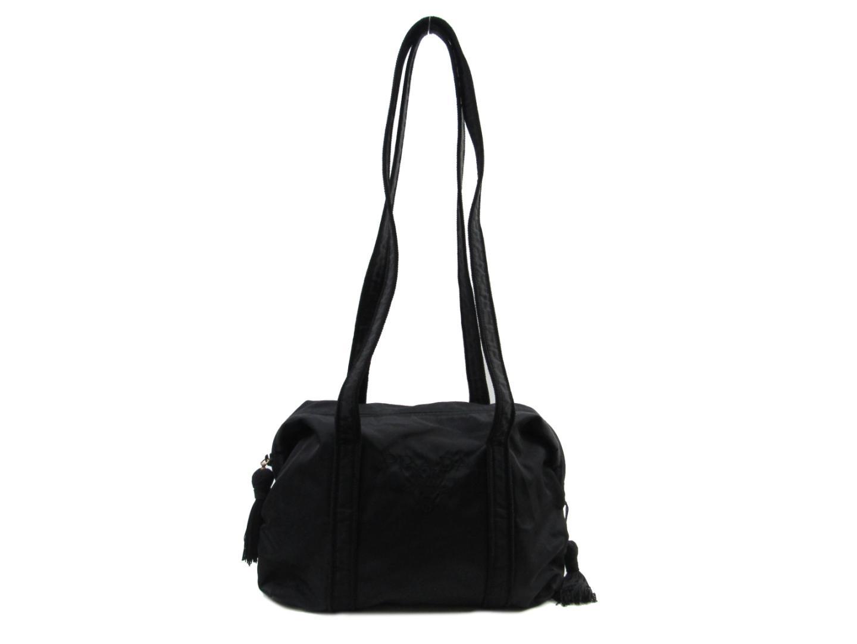 【中古】プラダ ショルダーバッグ レディース ナイロン ブラック | PRADA ショルダー 肩掛け バッグ バック BAG 鞄 カバン ブランドバッグ ブランド ブランドオフ BRANDOFF
