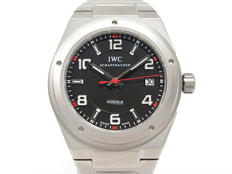 【中古】【送料無料】インターナショナル・ウォッチ・カンパニー インヂュニアAMG 腕時計 ウォッチ メンズ チタン (IW322702)   IWC オートマチック 自動巻き WATCH 時計 美品 ブランド ブランドオフ BRANDOFF
