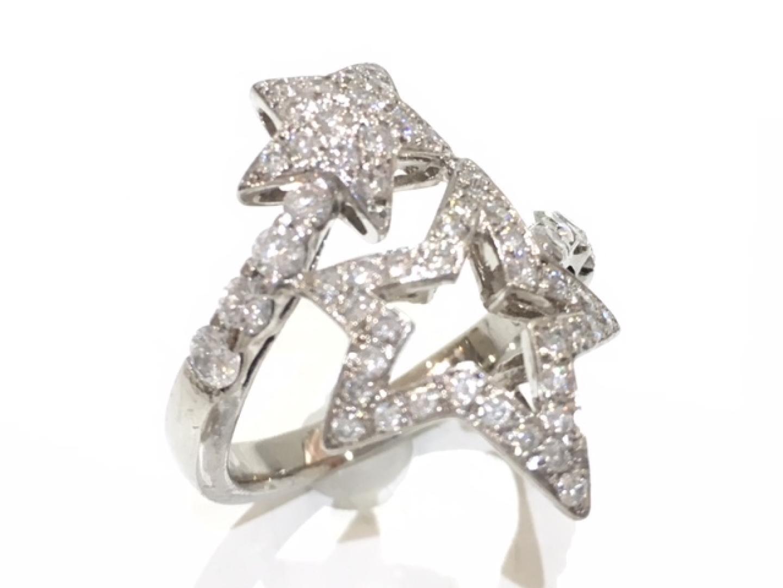 【中古】【送料無料】ジュエリー ダイヤモンドリング 指輪 レディース PT900 プラチナ×ダイヤモンド(0.82ct) | JEWELRY リング 美品 ブランドオフ BRANDOFF