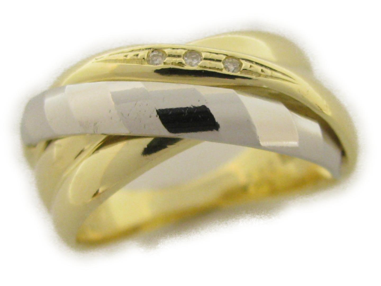 【中古】【送料無料】ジュエリー ダイヤモンドリング レディース K18YG(750) イエローゴールド×ダイヤモンド0.02ct | JEWELRY リング 美品 ブランドオフ BRANDOFF