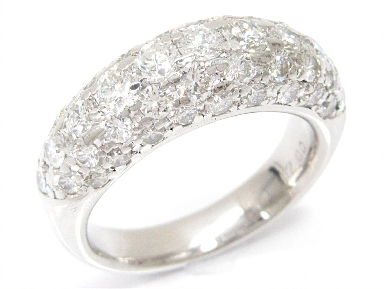 【中古】【送料無料】ジュエリー ダイヤモンドリング 指輪 レディース PT900 プラチナxダイヤモンド(2.00ct) | JEWELRY リング 美品 ブランドオフ BRANDOFF