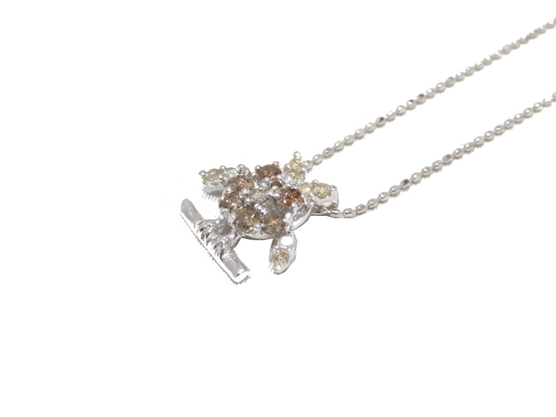 【送料無料】ジュエリー ダイヤモンドネックレス レディース K18WG(750) ホワイトゴールド | JEWELRY ネックレス 新品 ブランドオフ BRANDOFF