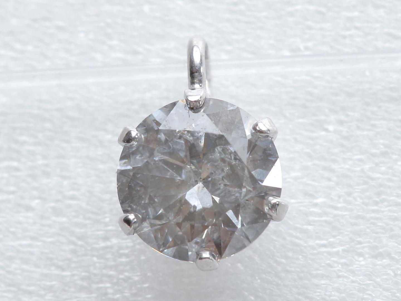 【中古】ジュエリー ダイヤモンド トップ レディース K18WG(750) ホワイトゴールド x ダイヤモンド(0.34ct) | JEWELRY トップ 美品 ブランドオフ BRANDOFF