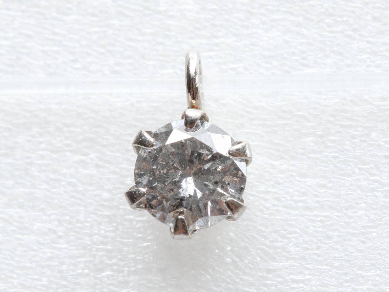 【中古】ジュエリー ダイヤモンド トップ レディース K18WG(750) ホワイトゴールド x ダイヤモンド(0.2ct) | JEWELRY トップ 美品 ブランドオフ BRANDOFF