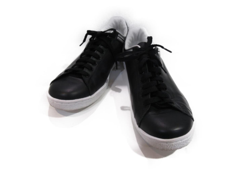 【中古】セレクション UNDER COVER スニーカー メンズ レザー ブラック/ホワイト | SELECTION くつ 靴 美品 ブランド ブランドオフ BRANDOFF