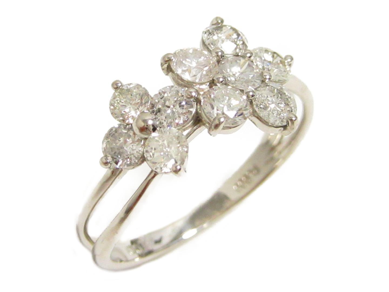 【中古】【送料無料】ジュエリー ダイヤモンド リング 指輪 レディース PT900 プラチナ×ダイヤモンド(1.00ct) | JEWELRY リング 美品 ブランドオフ BRANDOFF