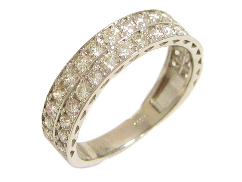 【中古】【送料無料】ジュエリー ダイヤモンド リング 指輪 レディース PT900 プラチナ×ダイヤモンドリング(1.00ct) | JEWELRY リング 美品 ブランドオフ BRANDOFF